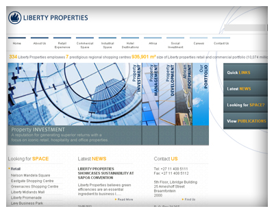 Liberty Properties Website