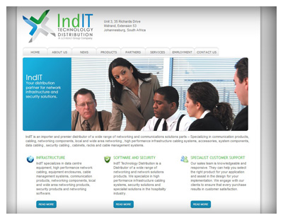 IndIT Africa Website