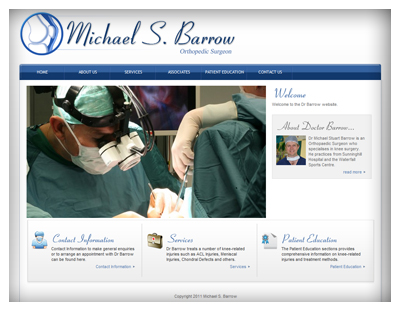 Dr Michael Barrow Website